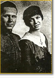 Lawrence & Blanche Bauerband in 1917
