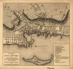 Old Newport Map