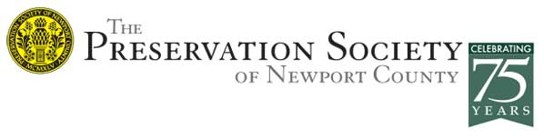 Preservation Society of Newport County 75th Anniversary Logo