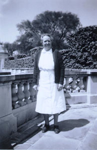 Grace Rhodes Birch, cook at The Elms