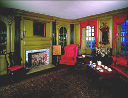 Hunter House parlor