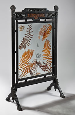 Oscar Wilde Fire Screen
