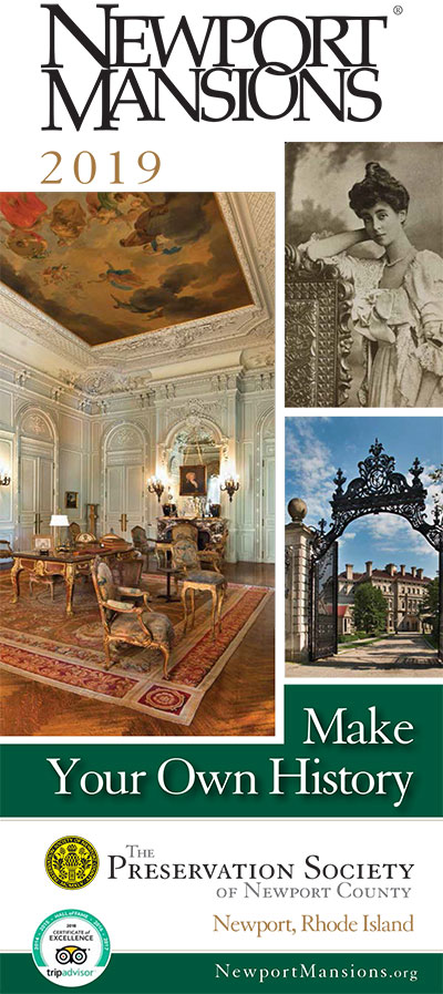 2019 Newport Mansions Visitor Guide