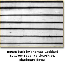 House detail by Thomas Goddard