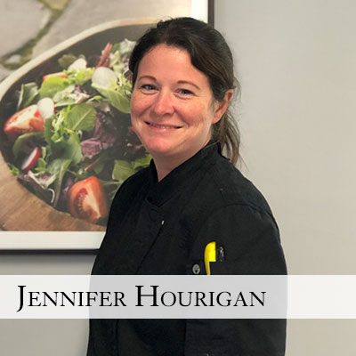 Chef Jennifer Hourigan Blackstone Caterers