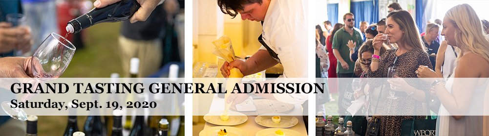Grand Tasting General Admission Saturday