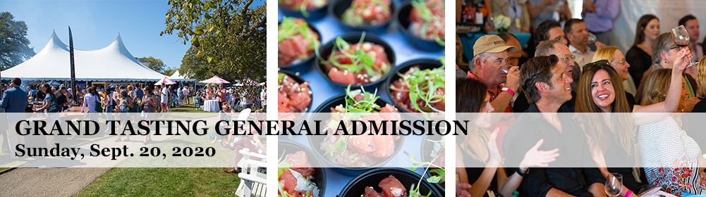 Grand Tasting General Admission Sunday