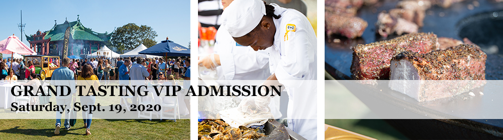 Grand Tasting VIP Admission Saturday
