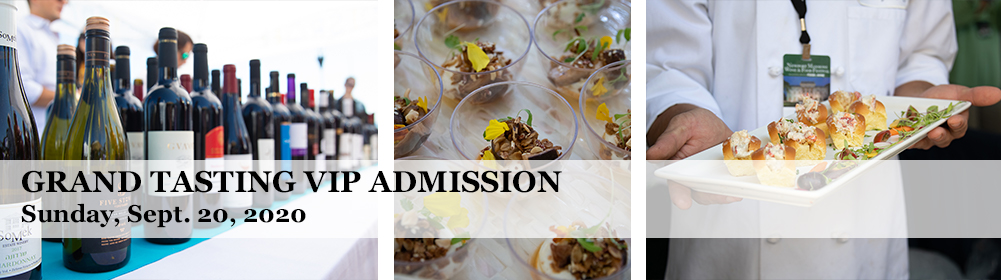 Grand Tasting VIP Admission Sunday