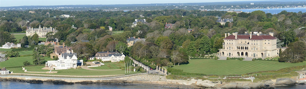 Aerial of the Breakers