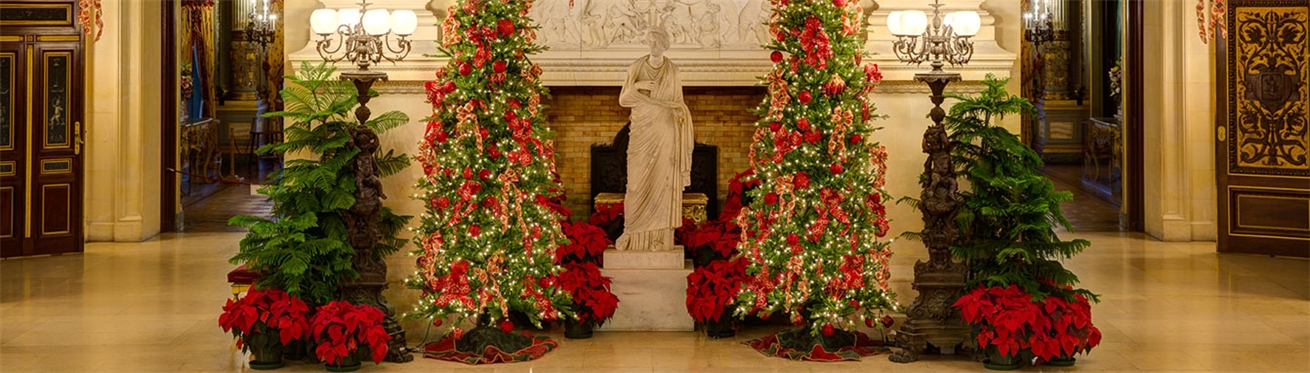 events - Mansion Christmas Decorations